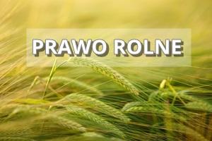 prawo rolne